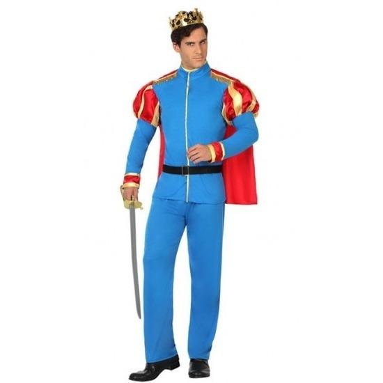 Prins verkleed kostuum voor heren