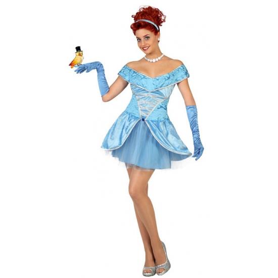 Prinses verkleedkleding lichtblauw