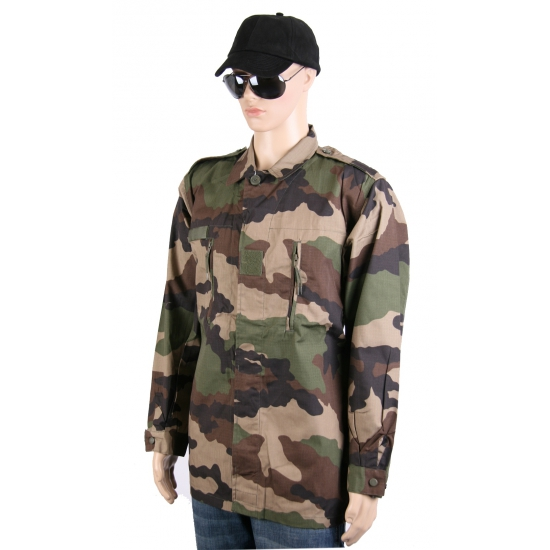 Ripstop camouflage jack
