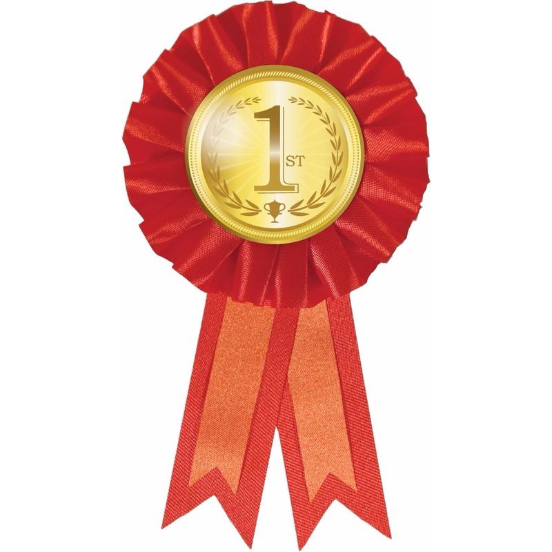Rode rozet eerste prijs