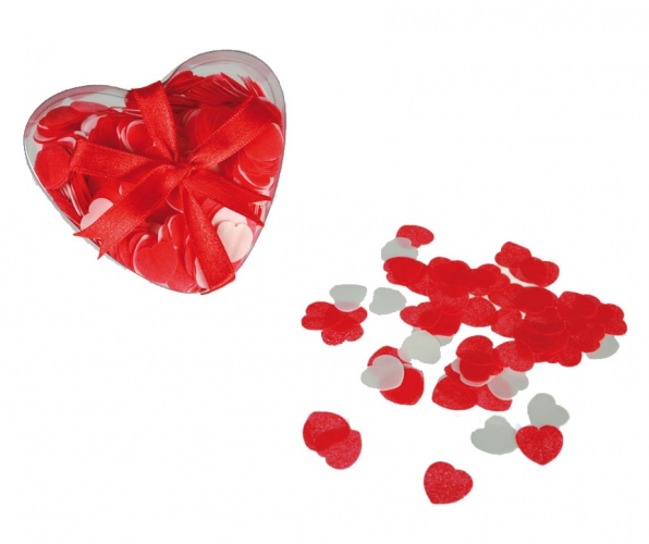 Romantische bad confetti hartjes