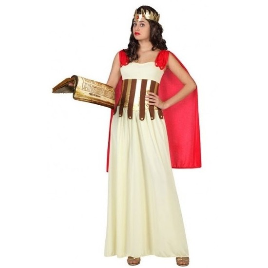 Romeinse/Griekse dame Aurelia verkleed kostuum/jurk voor dames