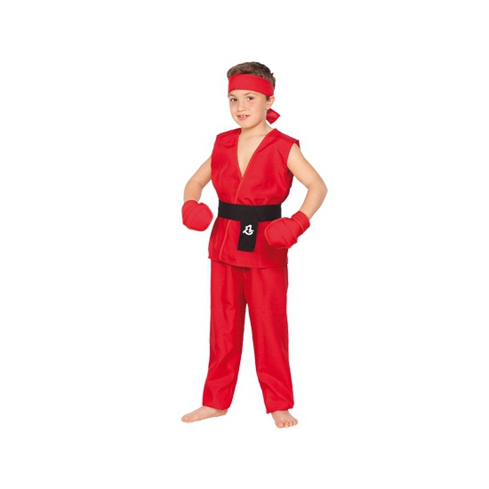 Rood Kung Fu pak voor kids