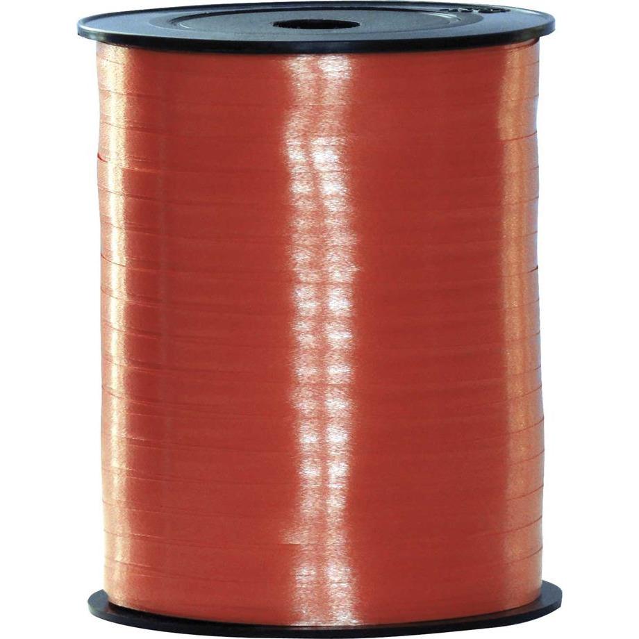 Rood lint 500 meter x 5 milimeter breed
