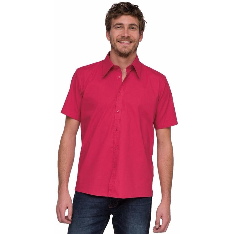 Roze Lemon&Soda blouse met korte mouwen