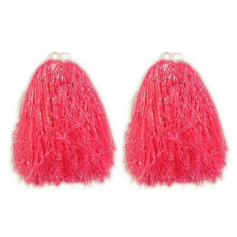 Set van cheerballs roze voor kinderen