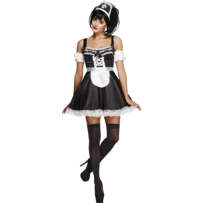 Sexy kamermeisje kostuum voor dames