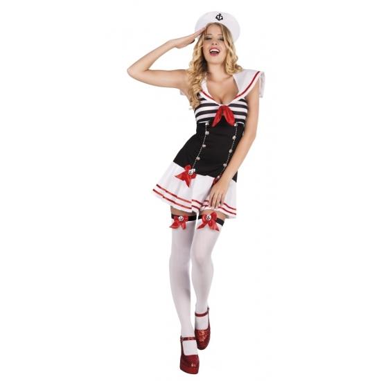 Sexy matrozen jurkje voor dames