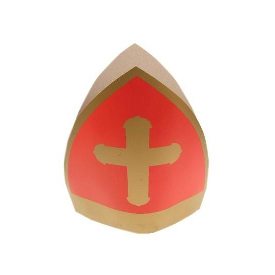 Sinterklaas kinder mijter van karton