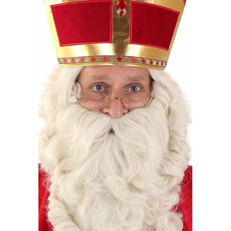 Sinterklaas leesbril goud