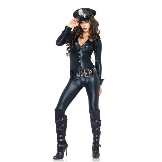 SM agent kostuum voor dames