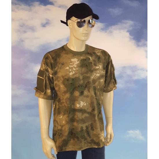 Soldaten shirt camouflage voor heren