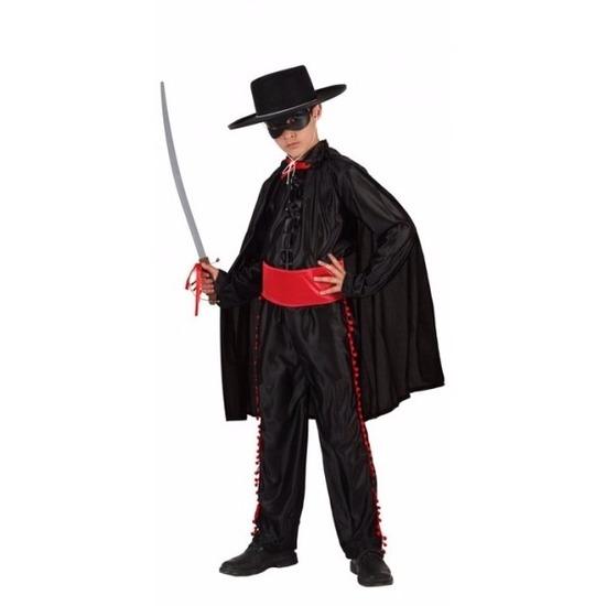 Spaanse gemaskerde held kostuum voor jongens