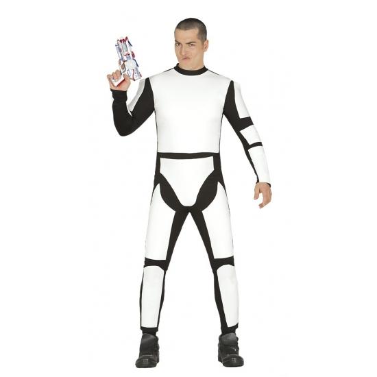 Space trooper kostuum voor heren
