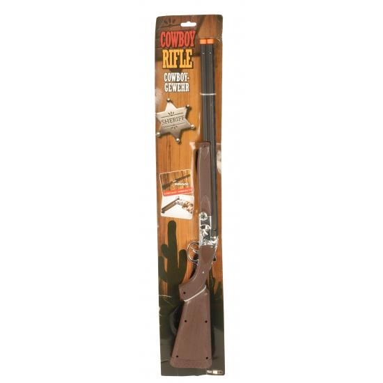 Speelgoed cowboy geweer 68 cm