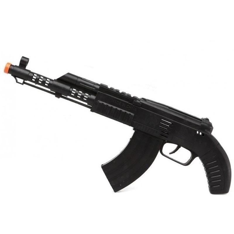 Speelgoed machinegeweer 35 cm verkleed wapens