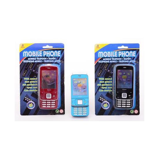 Speelgoed mobiele telefoon met geluid