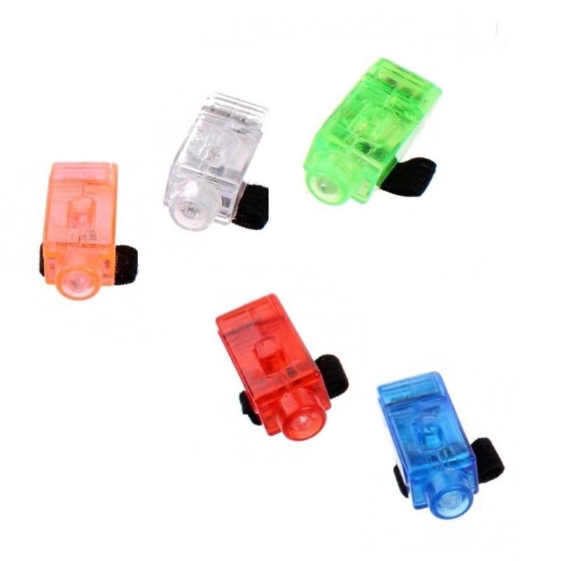 Speelgoed vingerlampjes 5 stuks