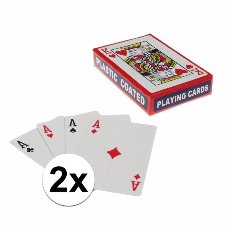 Speelkaarten setjes 2 stuks