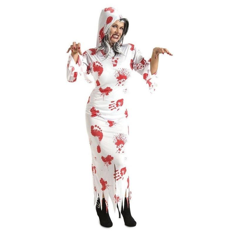Spook kostuum met bloed voor volwassenen