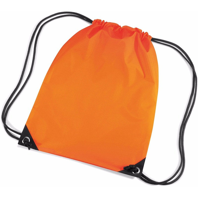 Sportdag gymtasjes oranje