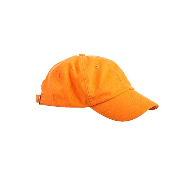 Sportdag team petje in oranje kleur
