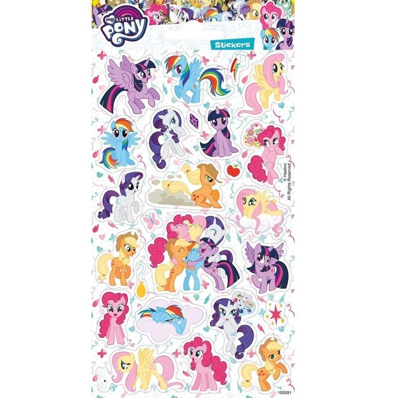 Stickervel My Little pony groot