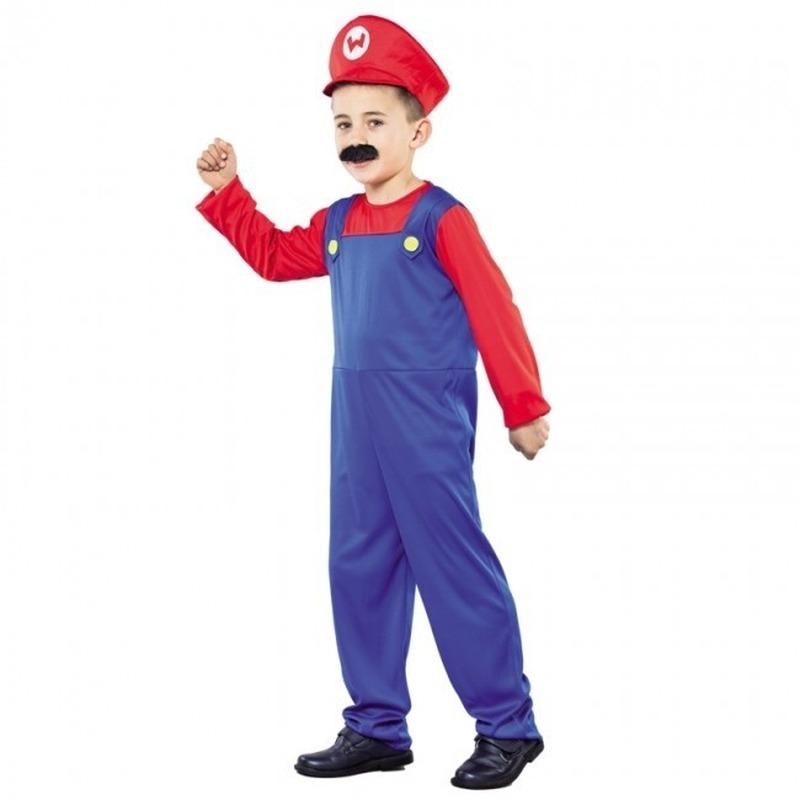 Super Loodgieter carnaval kostuum voor kids