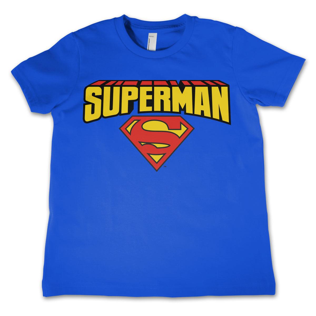 Superman t-shirt voor jongens/meisjes