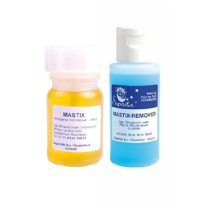 Superstar mastix huidlijm 50 ml en remover 50 ml