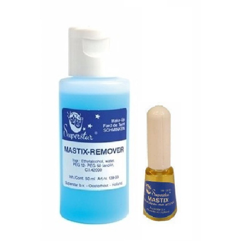Superstar Mastix huidlijm 9 ml en remover 50 ml