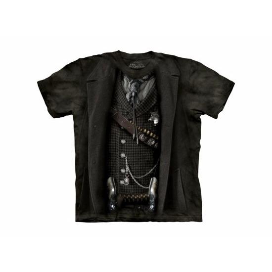 T-shirt sheriff zwart