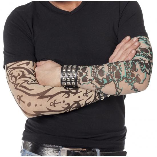 Tattoo sleeves gothic voor volwassenen