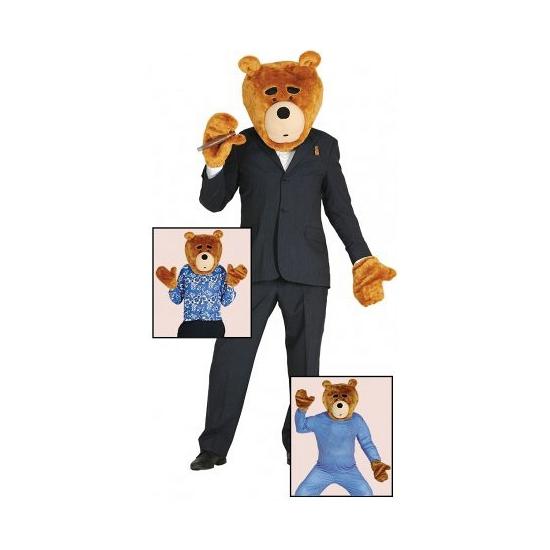 Ted verkleedset van pluche