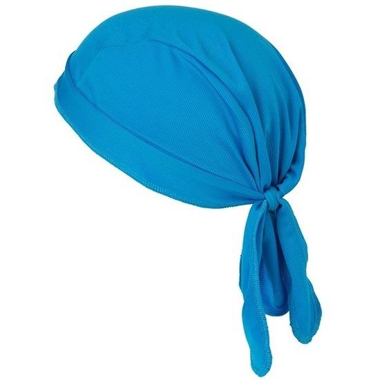 Topcool polyester bandana blauw