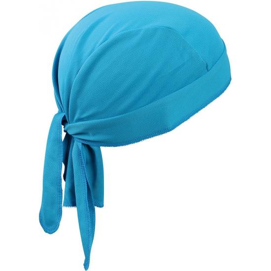 Topcool polyester bandana turquoise