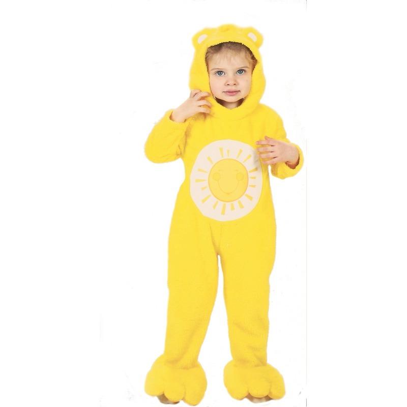Troetelbeertjes kostuum geel voor peuters