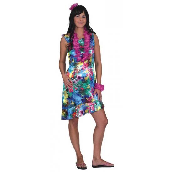 Tropische thema kleding voor dames