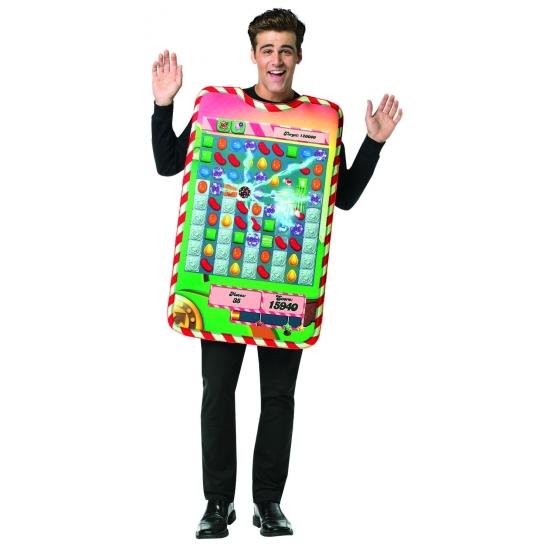 Verkleed Candy Crush kostuum volwassenen