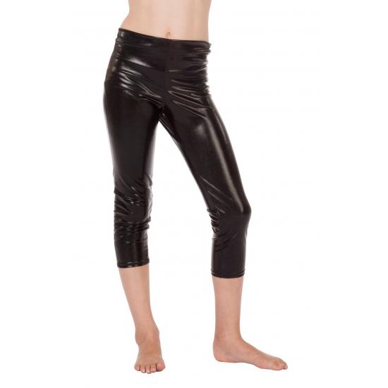 Verkleed Driekwart kinder legging zwart
