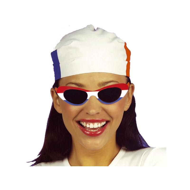 Verkleed Feest bril Nederland ovaal