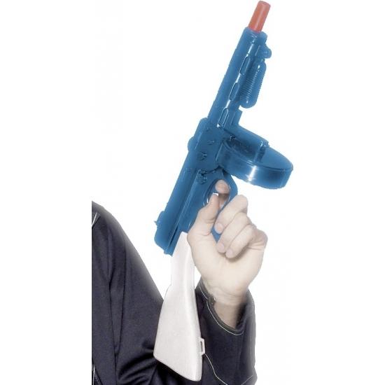 Verkleed Gangster geweer plastic