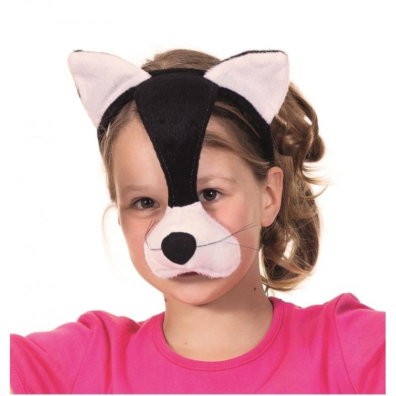 Verkleed Kattenmasker met geluid