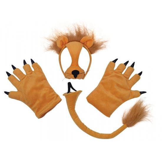 Verkleed Leeuw verkleedset pluche