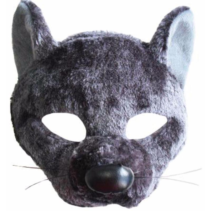 Verkleed Ratten diadeem masker met geluid