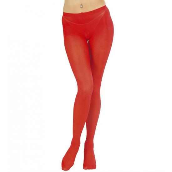 Verkleed Rode panty maillot