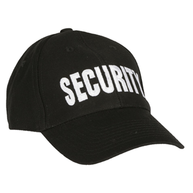 Verkleed Security baseballcap