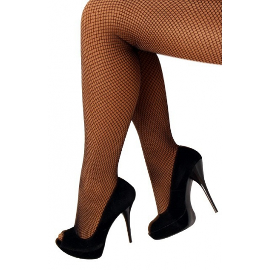 Verkleed Zwarte netpanty