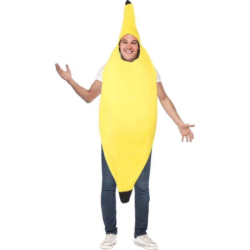 Verkleedkleding Bananen pak