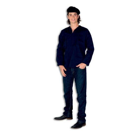 Verkleedkleding Blauwe boeren kiel voor volwassenen